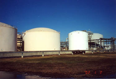 BASF Million Gallon Tank Farm