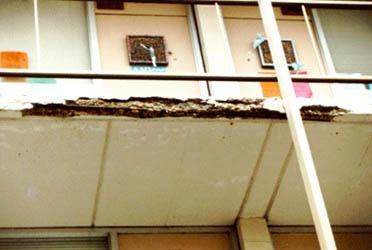 College Inn Balcony Repairs