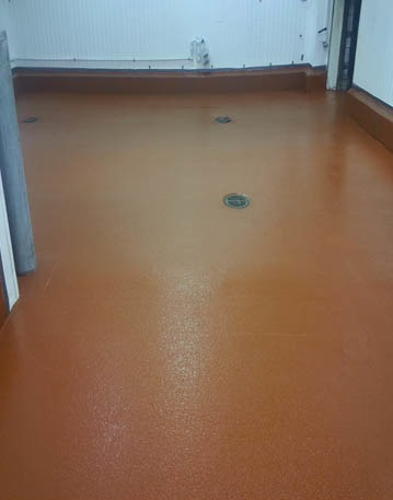 Patterson Foods Processing Area Floors
