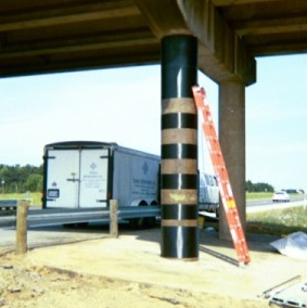 I-20 Spur 156 Bridge Column – Structural Repair