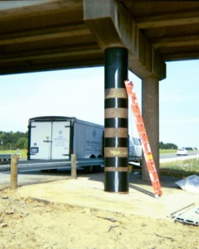 I-20 Spur 156 Bridge Column – Structural Repair