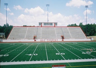 Razorback High School Stadium Bleacher Repairs