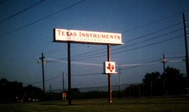 Texas Instruments 2nd Floor Coating