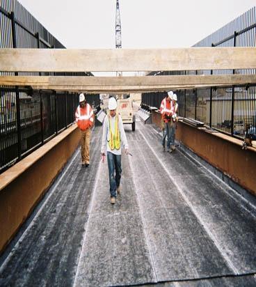 Union Pacific RR Bridge Deck