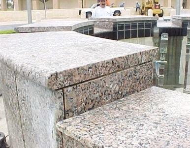 Bush Library Fountain