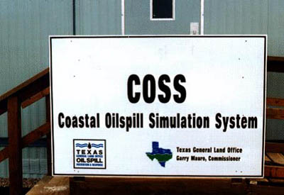 Coastal Oil Spill Simulation Facility