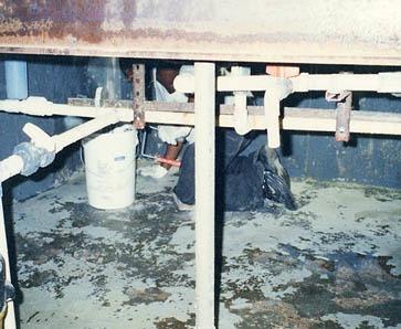 GE Osmonics Etcher Facility Pit Lining