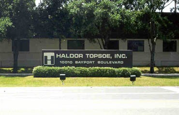 Haldor Topsoe Chromic Acid Containment