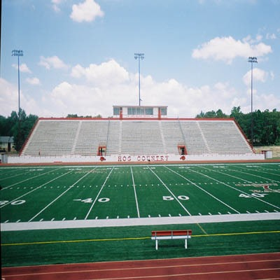 Razorback High School Stadium Bleacher Repairs