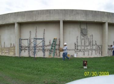 Rowlett Creek Waste Water Treatment Plant