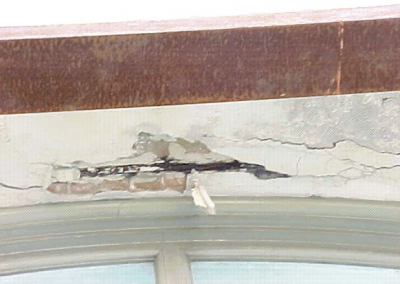 Tremont House Spalling Repair