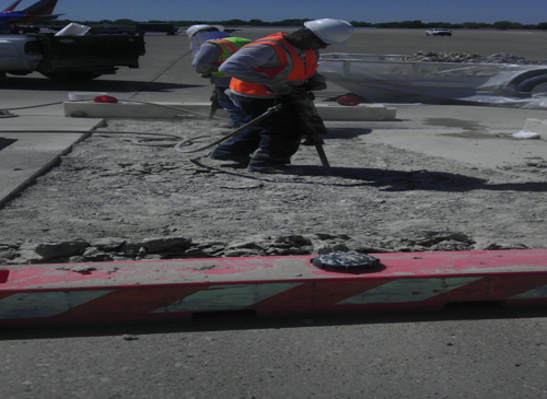 Love Field Airside Paving Repairs