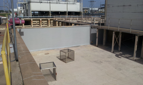 Vought Cooling Tower Basin